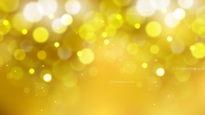 Abstract Gold Blurred Bokeh Background