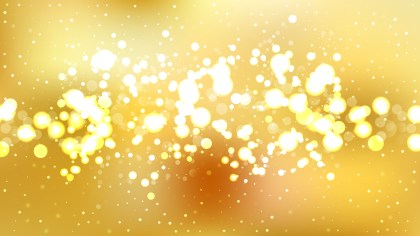 Abstract Gold Bokeh Defocused Lights Background Image