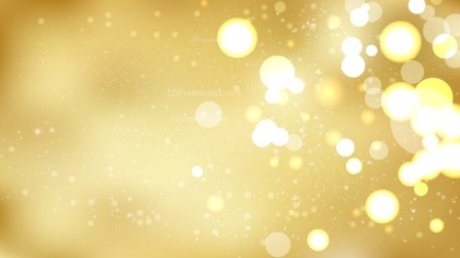 Abstract Gold Blurred Bokeh Background Vector Art
