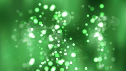 Green Blurred Lights Background