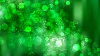 Green Bokeh Defocused Lights Background Vector Image