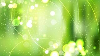 Green Lights Background Vector Art