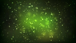 Abstract Green and Black Bokeh Lights Background