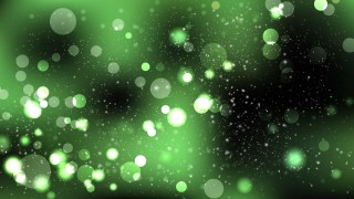 Abstract Green and Black Lights Background