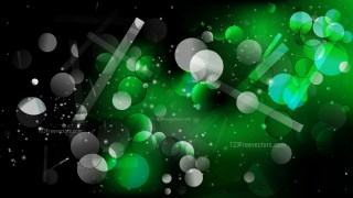 Green and Black Lights Background