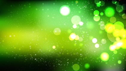 Abstract Green and Black Blur Lights Background