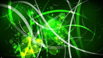Abstract Green and Black Defocused Background Vector Art