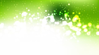 Abstract Green and White Blur Lights Background