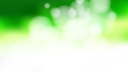 Abstract Green and White Defocused Background Vector Illustration