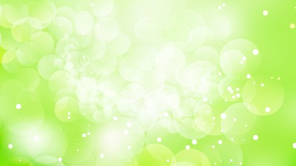 Green and White Lights Background