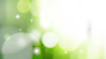 Abstract Green and White Defocused Background Image