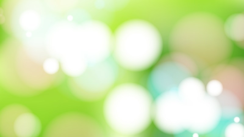 Green and White Defocused Background