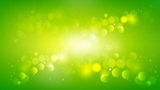 Green and Yellow Illuminated Background