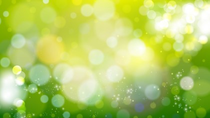 Green and Yellow Illuminated Background Vector Image