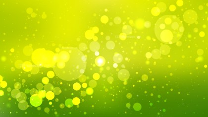 Abstract Green and Yellow Illuminated Background