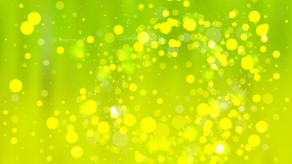 Green and Yellow Blurred Bokeh Background