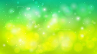 Green and Yellow Blur Lights Background