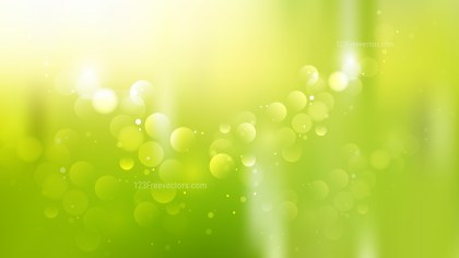 Abstract Green Yellow and White Defocused Background Illustration