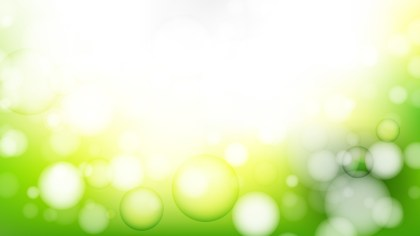 Green Yellow and White Lights Background Image
