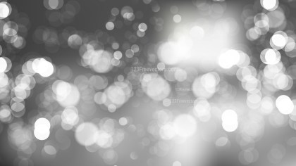 Abstract Grey Blur Lights Background Vector Graphic