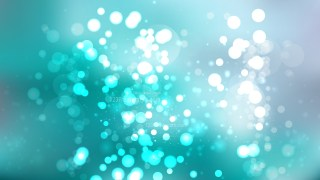 Grey and Turquoise Blur Lights Background Vector Graphic