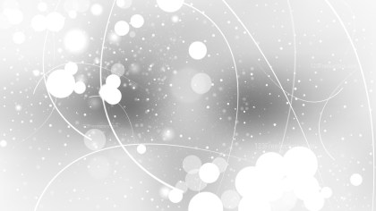 Abstract Grey and White Lights Background Vector Illustration