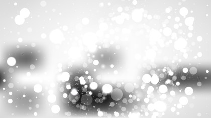 Grey and White Bokeh Background