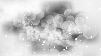 Grey and White Blur Lights Background Vector Graphic