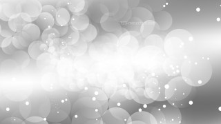 Grey and White Defocused Lights Background Design