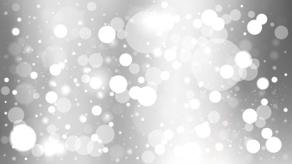Abstract Grey and White Lights Background