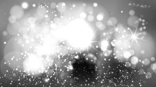 Grey and White Defocused Lights Background Vector Graphic