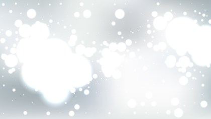 Abstract Grey and White Blur Lights Background