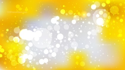 Grey and Yellow Defocused Background Vector Illustration