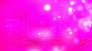 Abstract Hot Pink Bokeh Lights Background Graphic
