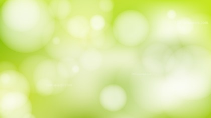 Abstract Light Green Bokeh Background Vector Graphic