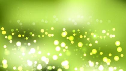 Light Green Blurred Lights Background Illustrator