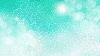 Mint Green Blurred Lights Background