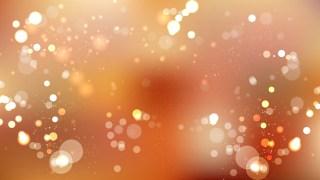 Orange Blur Lights Background Vector
