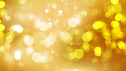 Abstract Orange Lights Background Illustration