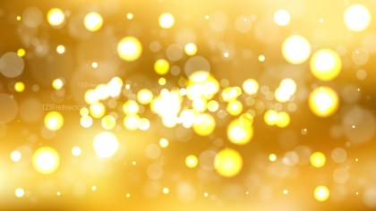 Orange Lights Background Vector Image