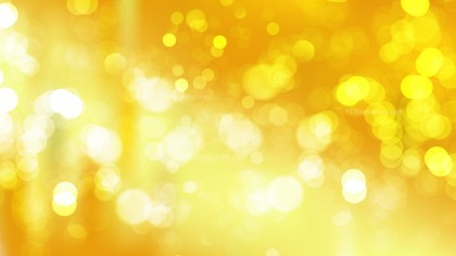 Orange Blur Lights Background