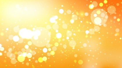 Orange Defocused Lights Background Design