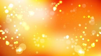 Orange Bokeh Defocused Lights Background Image