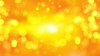 Abstract Orange Defocused Lights Background Illustrator