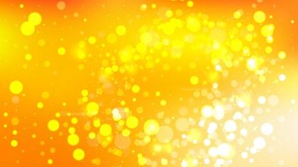 Orange Blurred Bokeh Background Vector Image