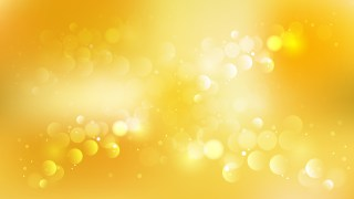 Abstract Orange Bokeh Lights Background