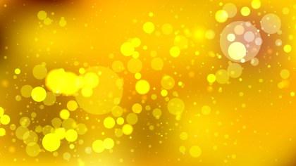 Abstract Orange Blur Lights Background Vector