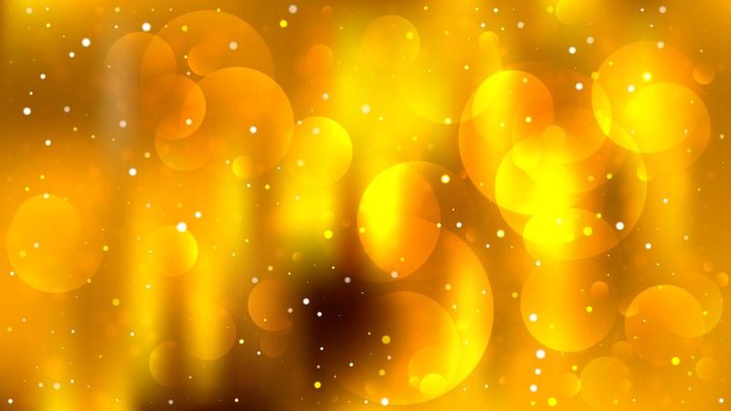 Abstract Orange Illuminated Background