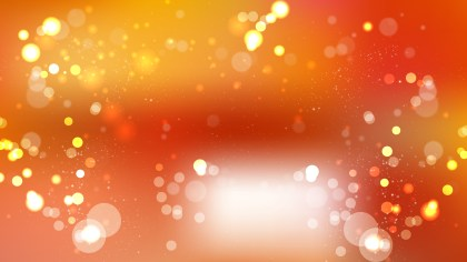 Abstract Orange Bokeh Background Graphic