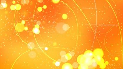 Orange Illuminated Background